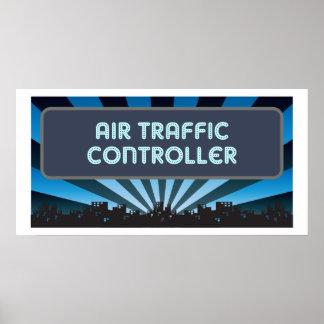 Carpa del controlador aéreo impresiones