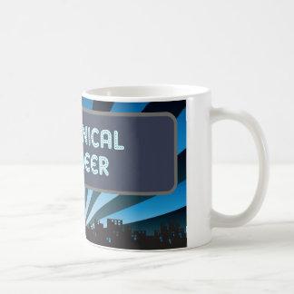 Carpa del ingeniero industrial tazas de café