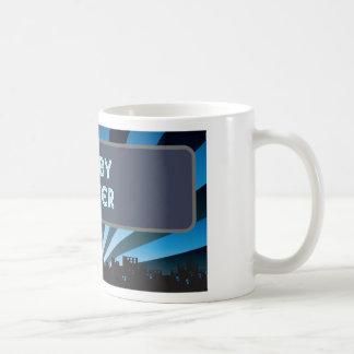 Carpa del jugador del rugbi tazas de café