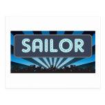 Carpa del marinero tarjetas postales