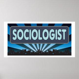 Carpa del sociólogo póster