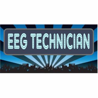 Carpa del técnico de EEG Esculturas Fotográficas