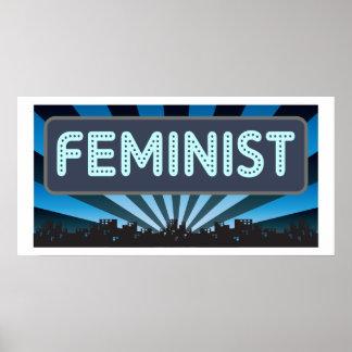 Carpa feminista poster