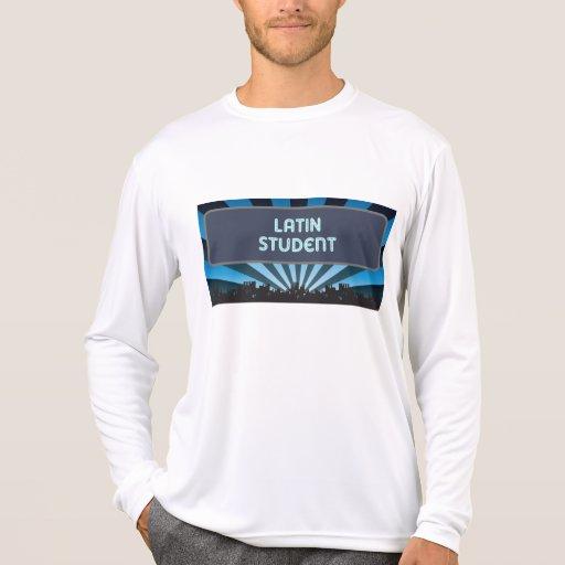Carpa latina del estudiante camiseta