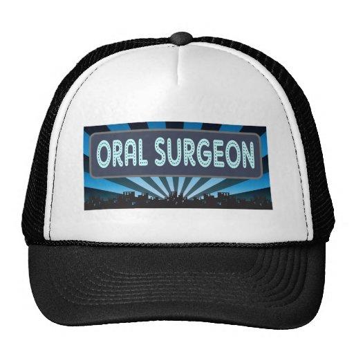 Carpa oral del cirujano gorra