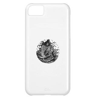 Carpa y agua funda para iPhone 5C