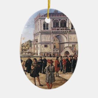 Carpaccio-Repatriación de Vittore de embajadores Ornamentos Para Reyes Magos