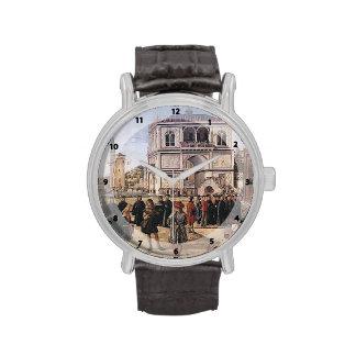 Carpaccio-Repatriación de Vittore de embajadores Relojes De Mano