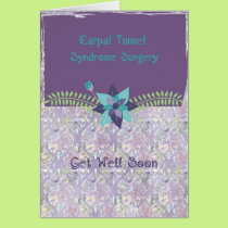 Carpal Tunnel Syndrome Surgery Card