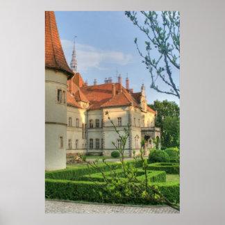 Carpathian Castle Print