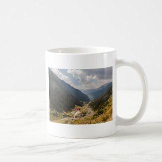 Carpathian mountains coffee mug