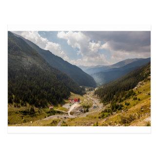 Carpathian mountains tarjeta postal