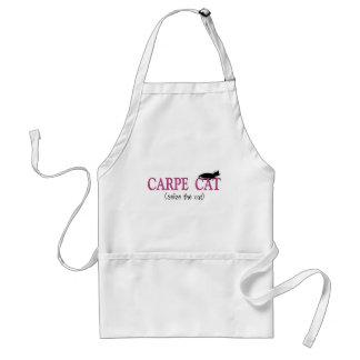 Carpe Cat (Seize The Cat) Gifts Adult Apron