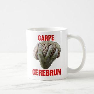 """CARPE CEREBRUM"" mug"
