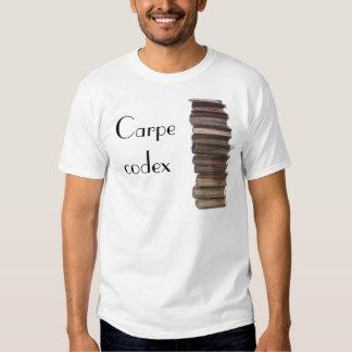 Carpe codex t-shirt