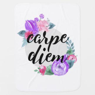 Carpe Diem 01 Baby Blanket