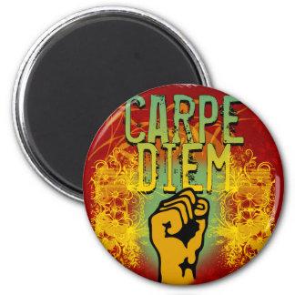 Carpe Diem 2 Inch Round Magnet