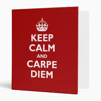 Carpe Diem! 3 Ring Binder