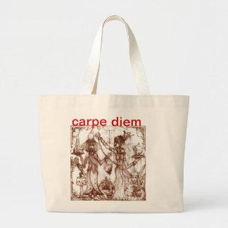 carpe diem affordable tote bag