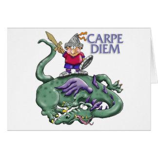 """Carpe Diem """"agarra el día!"""" El muchacho mata el dr Felicitacion"""