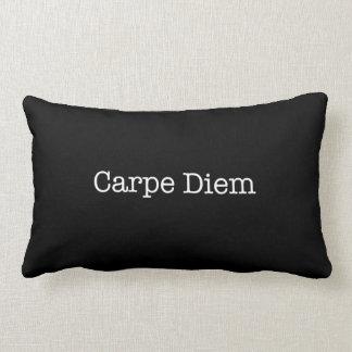 Carpe Diem agarra la cita del día - citas Cojín