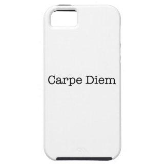 Carpe Diem agarra la cita del día - citas iPhone 5 Case-Mate Cárcasa