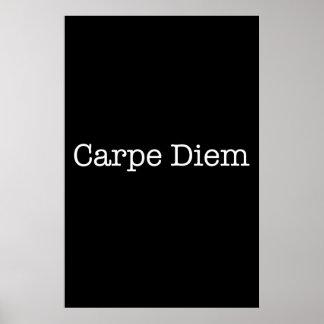 Carpe Diem agarra la cita del día - citas Posters