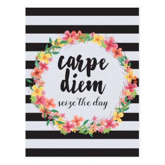 Carpe Diem/agarra la cita del día Postales