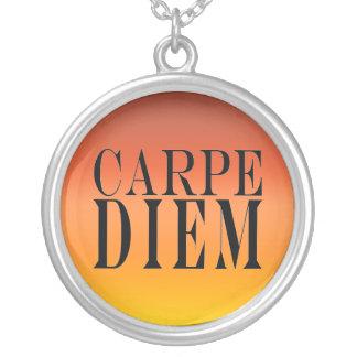 Carpe Diem agarra la felicidad latina de la cita Colgante Redondo