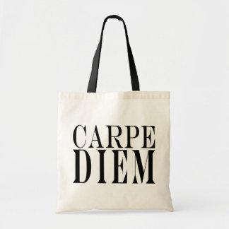 Carpe Diem agarra la felicidad latina de la cita d Bolsas