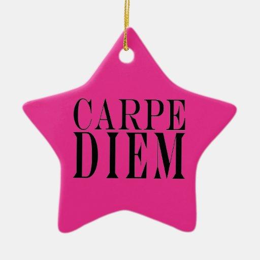 Carpe Diem agarra la felicidad latina de la cita Adorno De Reyes