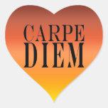 Carpe Diem agarra la felicidad latina de la cita Colcomanias De Corazon