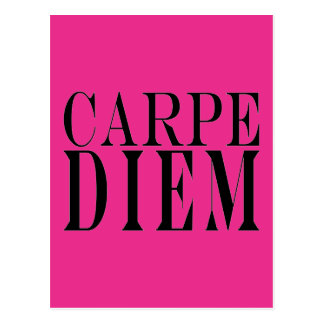 Carpe Diem agarra la felicidad latina de la cita Postales