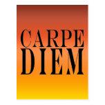 Carpe Diem agarra la felicidad latina de la cita Postal