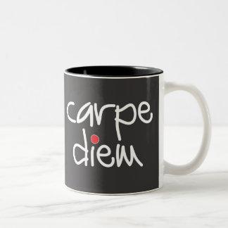 Carpe Diem - agarre la taza del día
