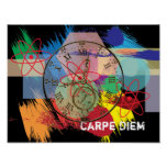 Carpe Diem -- art poster
