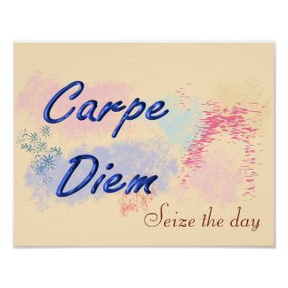 Carpe Diem - art print