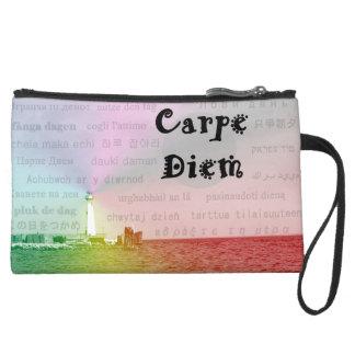 Carpe Diem Bag Wristlet Clutches