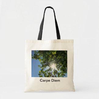 Carpe Diem Canvas Bags