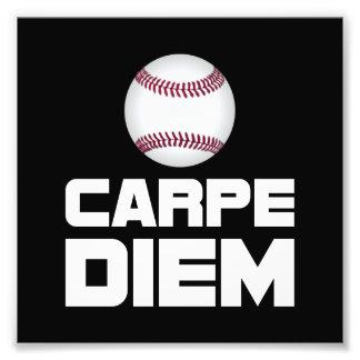 Carpe Diem Baseball Photo Print