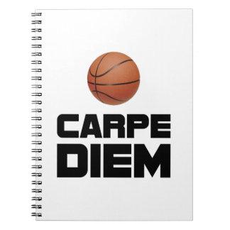 Carpe Diem Basketball Notebook