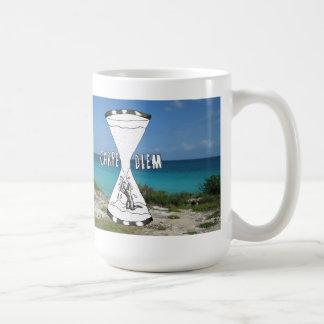 Carpe Diem Beach Coffee Mug