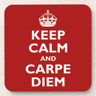 Carpe Diem! Beverage Coaster