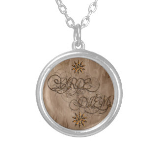 Carpe Diem (Brown) Necklace