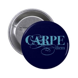 Carpe Diem Pinback Button