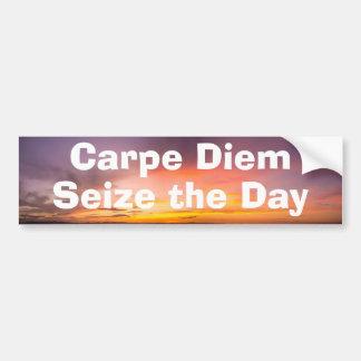Carpe Diem Car Bumper Sticker