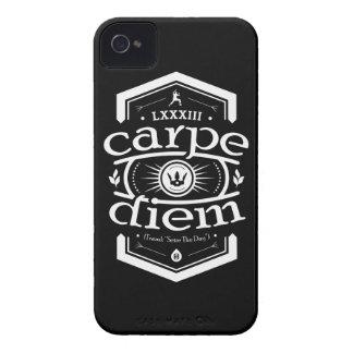Carpe Diem - caso de Iphone 4 4S - negro iPhone 4 Carcasas