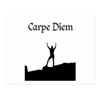 Carpe Diem Climbing Summit Postcard
