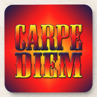 Carpe Diem Drink Coaster