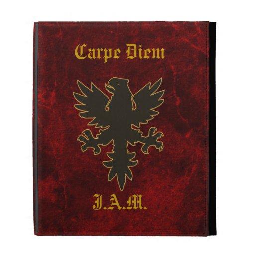 Carpe Diem Eagle Custom Case iPad Folio Cover